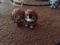 two brown My Little Pets toys Newport, 97366