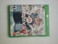Madden NFL 17 Xbox One game case Middletown, 19709