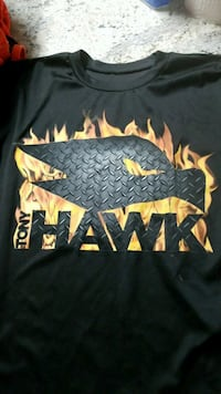 black and yellow Tony Hawk-graphic crew-neck t-shi Hartwell, 30643