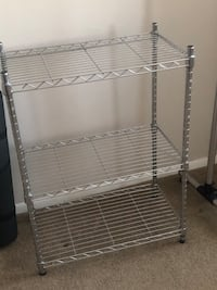 Freestanding closet rod / coat rack and 5 closet organizers Alexandria, 22301