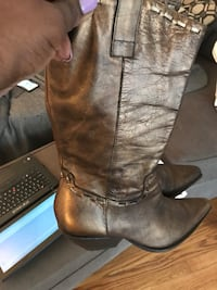 BcBG Bronze cowboy boots. Size 10!.. In great condition! Cary, 27511
