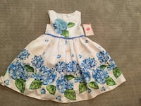 Brand New Blue and Green Floral Dress Xenia, 45385