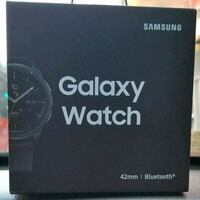 Samsung Galaxy Watch 42mm Stainless Steel Midnight 39 km