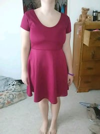 women's red  casual dress Middlesex, 27557