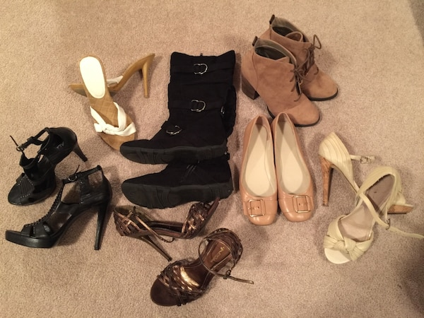 7 pairs of Shoes size 7