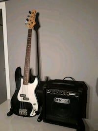 Crate Bass guitar and Fender amp Edmonton, T5T 6E2