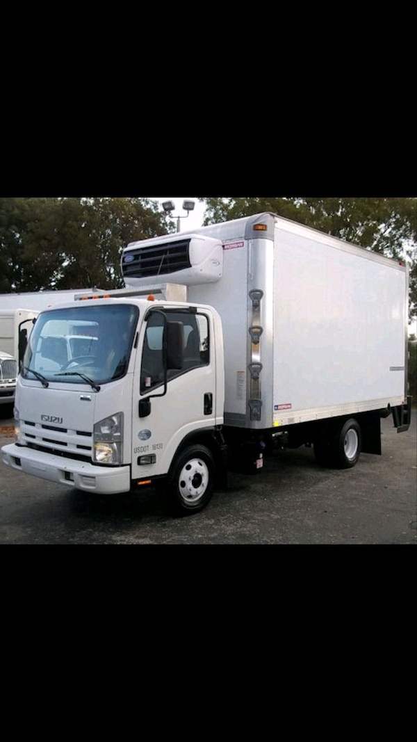 2013 Isuzu NPR-HD Reefer Truck
