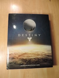 Destiny 1 Limited Edition  Strategy Guide (Hardcover Book, Great Condition) CALGARY