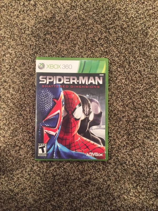 Xbox 360 Spider-Man  3 game case