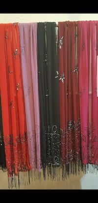 Handmade embroidered scarfs for sale