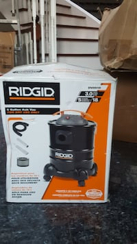 Ridgid 5 gallon ash vac for dry use only Vaughan