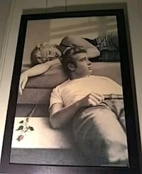 Marilyn Monroe and James Dean picture Montgomery, 36107