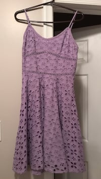 women's purple floral spaghetti-strap midi dress Marriottsville, 21104