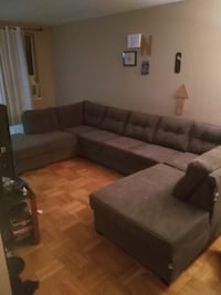 Huge grey sectional bought for 2300, has a rip on the right side Toronto, M1E 4S6