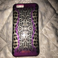 Cover iPhone 6 Just Cavalli pink.