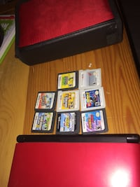 Black and red 3ds xl- trades as well Surrey, V4A