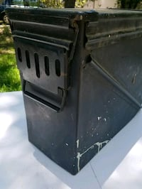 Military-style Metal Container Frisco