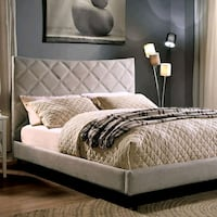 Queen size padded headboard and frame Milwaukie, 97267