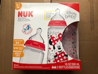 Nuk baby bottles NEW