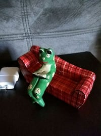 Wooden frog on couch  Surrey, V3T 4L8