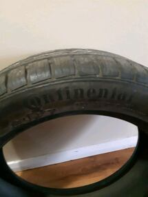 """Continental winters. Only2  205/55R17"""""""