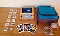 Black/Gold Triforce Nintendo 3DS XL Bundle w/ 12 Games and Nintendo DS Carrying Case (As seen on Rick & Morty!)