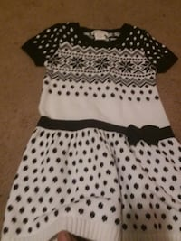 black and white polka dot sleeveless dress Hagerstown, 21740