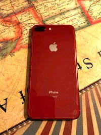 Red iPhone 8 plus 256GB unlocked any carrier