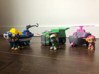 Paw Patrol w vehicles  Falls Church, 22041