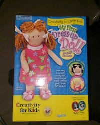 Brand New Build a Doll Set- My 1st Dress up Doll Barrie, L4N 9T3