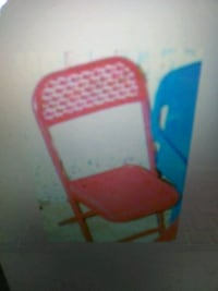 New kids metal folding chair 1000 mi