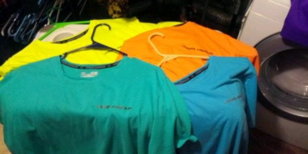 4 youth extra large Under Armour t-shirts