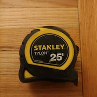 Measure tape Stanley hard duty, 25 ft Toronto