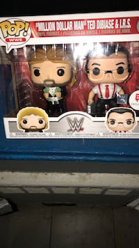 POP! Funko Ted DiBiase & I.R.S. WWE 2 pack Walgreens exclusive  New Rochelle, 10805