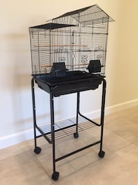 House Shaped Bird Cage with Stand BRAND NEW  Los Angeles, 91402