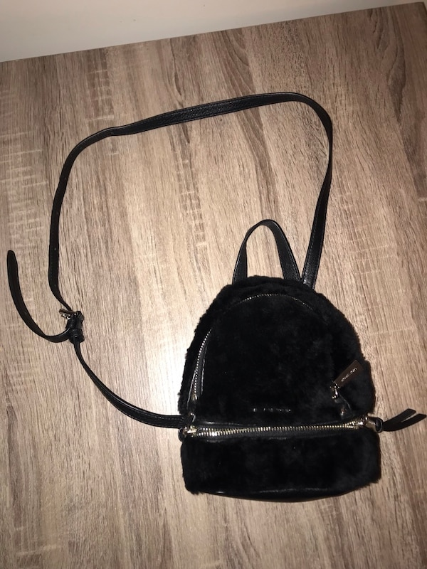 d250ac8e80bc Used Black Fur Brand New Michael Kors Bag MSRP  328 for sale in New York -  letgo