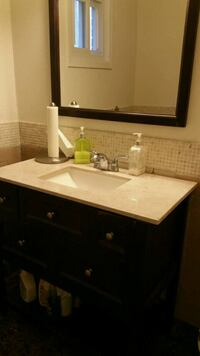 Vanity with faucet and Mirror Toronto, M2H 3P5