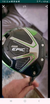 Callaway Epic driver greet condition