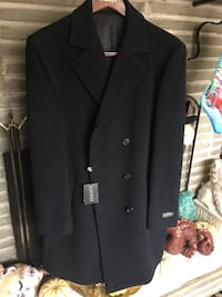 black double breasted coat Oxford, 06478