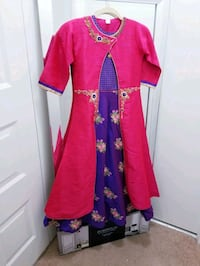 4 Piece Kids/Girls Kameez Long Dress Reston, 20190