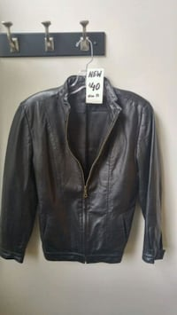 New Ladies Leather Jacket size 10 Bond Head, L0G 1B0