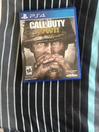 PS4 Call of Duty WWII case Fayetteville, 17222
