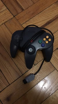 black and red corded game controller Washington, 20007
