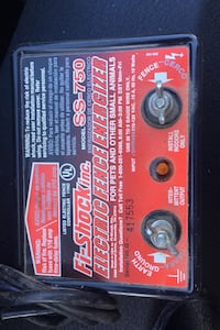 Electric fence Livingston, 70754