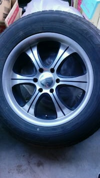 """20"""" 6lug BOSS rims with tire( [TL_HIDDEN] obo Greenfield, 93927"""