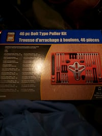 46 piece bolt type puller kit