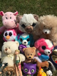 Stuffed animals excellent condition . Take all $15  Bay Shore, 11706