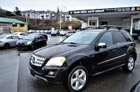 Team West Auto Group 2009 Mercedes-Benz ML320 BlueTEC Local No accident One owner clean ml Coquitlam