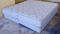 Sealy King Mattress and Box Spring Used in Good Conditions-FREE DELIVERY!!! El Paso, 79902