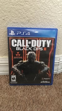 Call of Duty Black Ops 3 PS4 game case